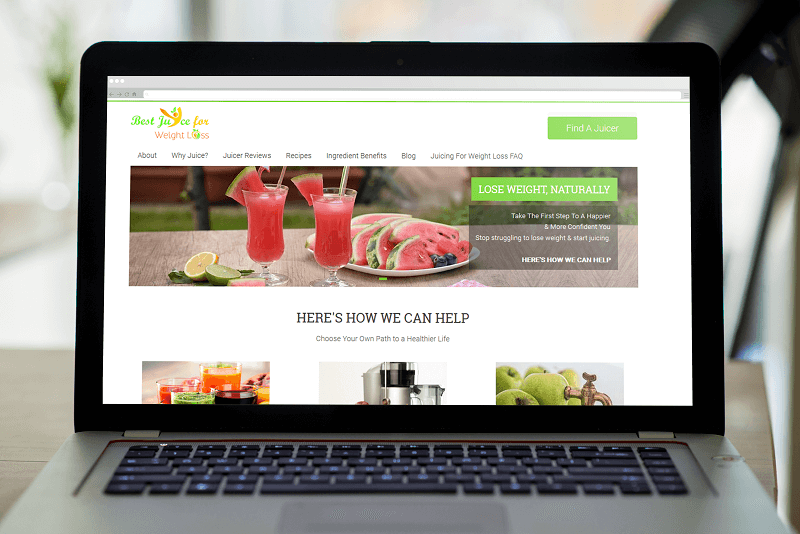 Best Juice for weight loss was created and designed by Polar Web Designs creative design team