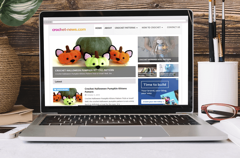 Polar Web Design works closely with Crochet News a market leading in the crocheting space online