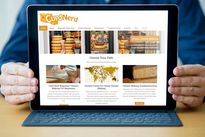 Polar Web Design built Curd Nerds woocommerce product store and set up online payments