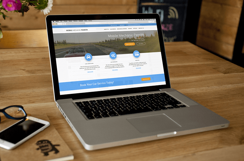 Mobile Mechanic Penrith is now the #1 car, motorcycle and truck mechanic in Western Sydney thanks to the high converting website design by Polar Web Design