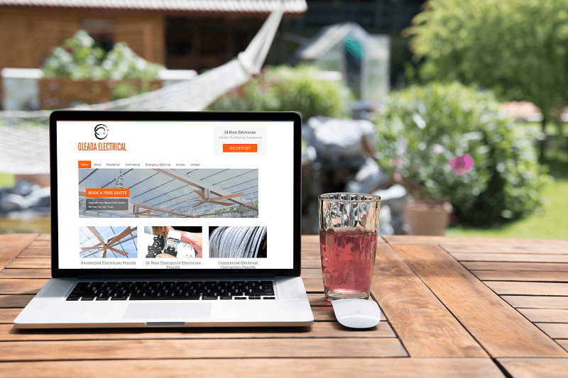 Oleada Electrical Brisbane's fastest growing electrical company employs Polar Web Design to manage their SEO and their Google My Business listing to capture as many new clients as possible