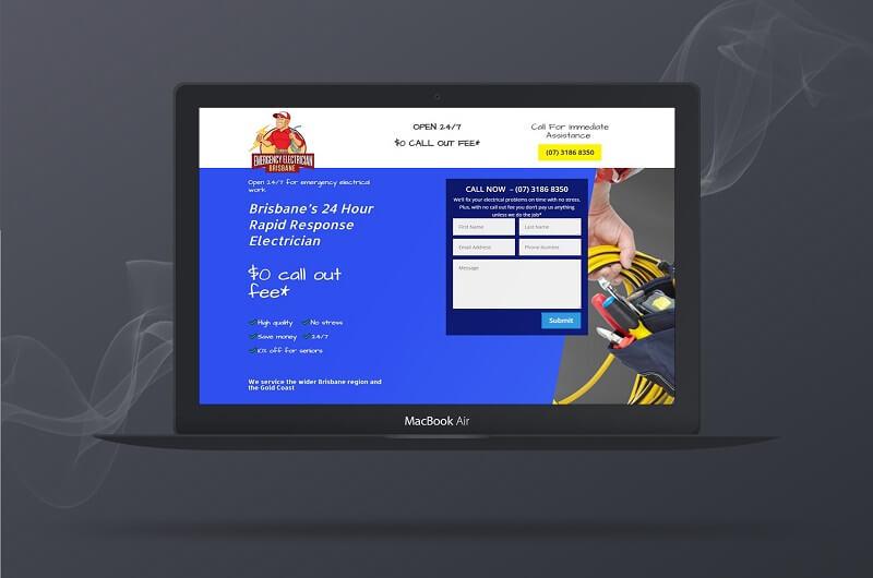 web designer portfolio for Polar Web Design Parramatta