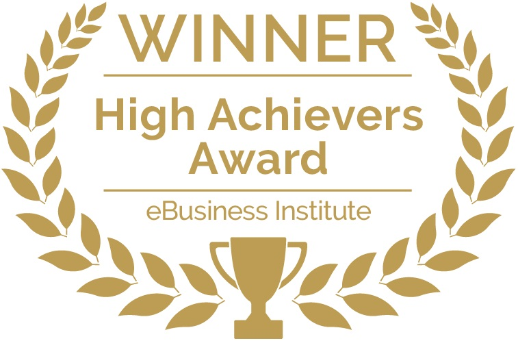 Ebusiness Institute High Achievers Award Winning Sydney Digital Agency
