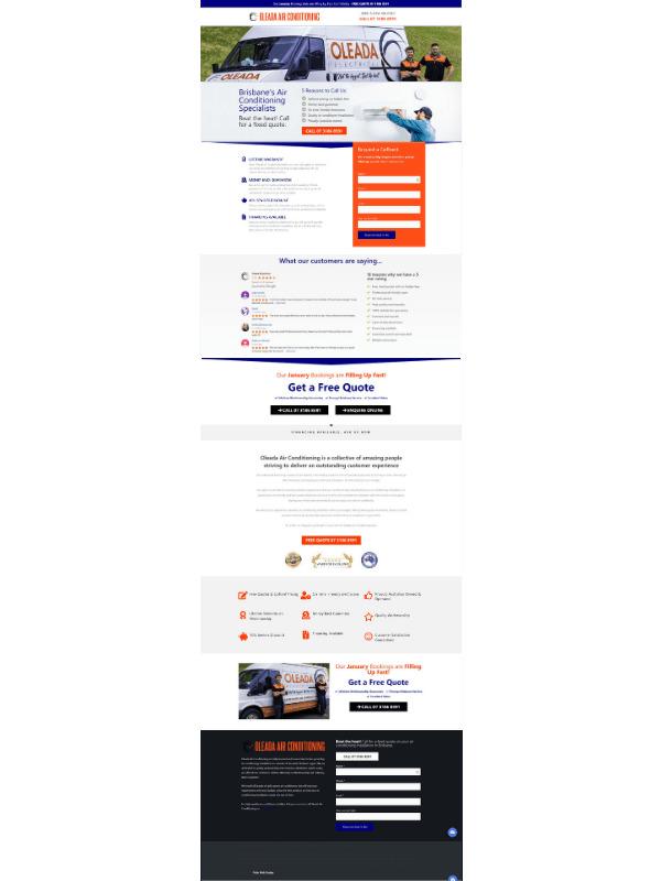 Website Design - 1 Page