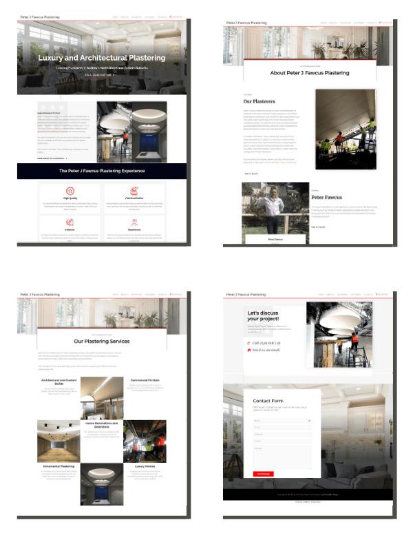 Website Design - 4 Page