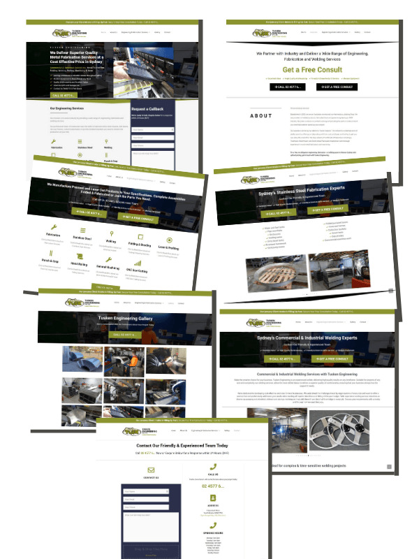 Website Design - 7 Page
