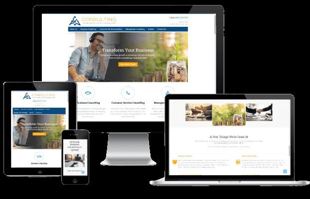 Websites Polar Web Design Portfolio - PCW Consulting