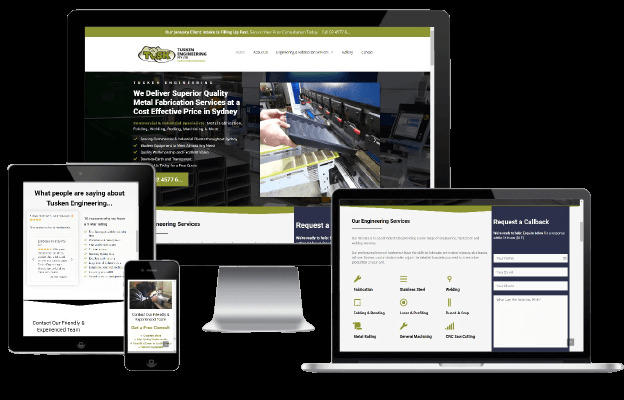Websites Polar Web Design Portfolio - Tusken Engineering